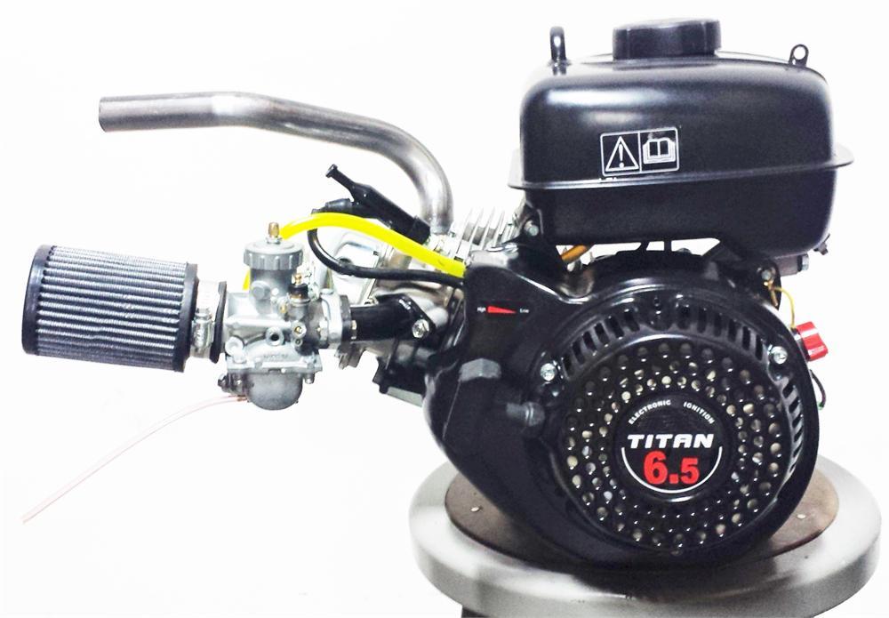 Mikuni Stage 1 Kit, with Fatty Exhaust, for Mini Bike, Go Kart, GX200