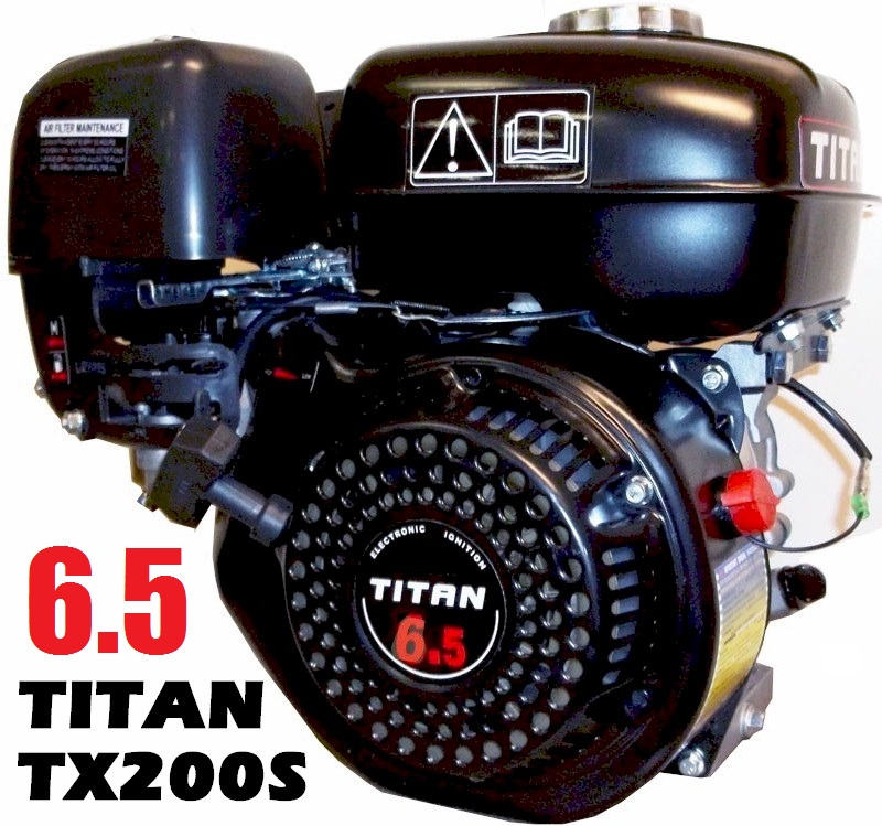 Titan TX200S 6.5hp OHV Powersport Engine