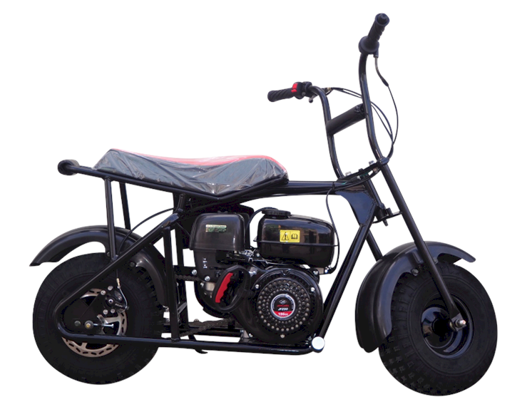 Monster Storm 200 Mini Bike, 6.5hp, Disc Brake