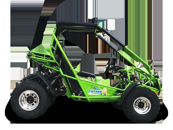 Deluxe TrailMaster 150 XRX Go Kart   Gas Golf Cart