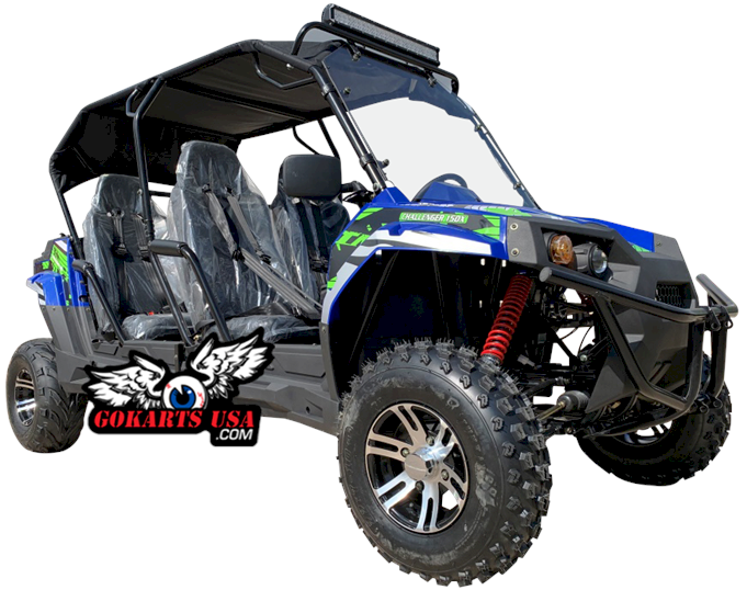 TrailMaster Challenger 150X 4-Seater UTV Side-by-Side