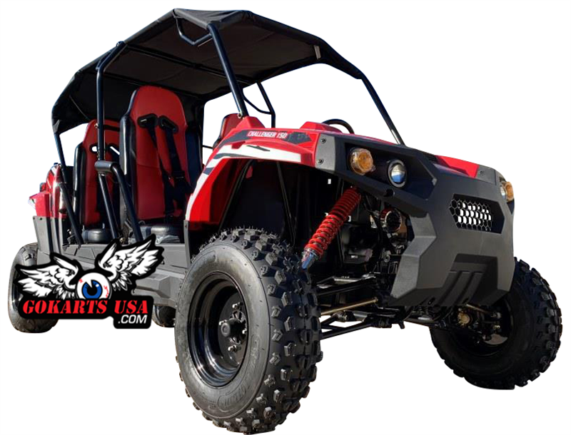 TrailMaster Challenger 300E Fuel Injected 4-Seater UTV Side-by-Side