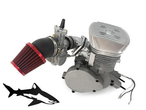 66 80cc Motorized bike ENGINE CNC STAINLESS STEEL High Performance head S-R