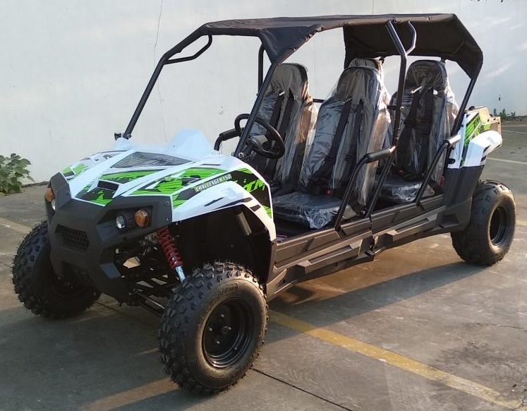 TrailMaster Challenger 150S 4-Seater UTV Side-by-Side