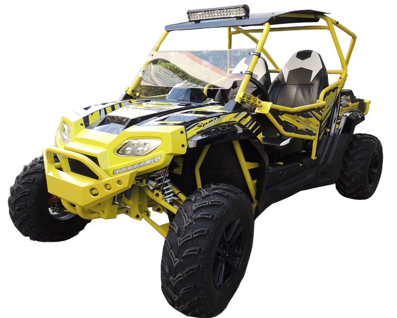 Sport 350cc UTV, 20hp, Shaft Drive
