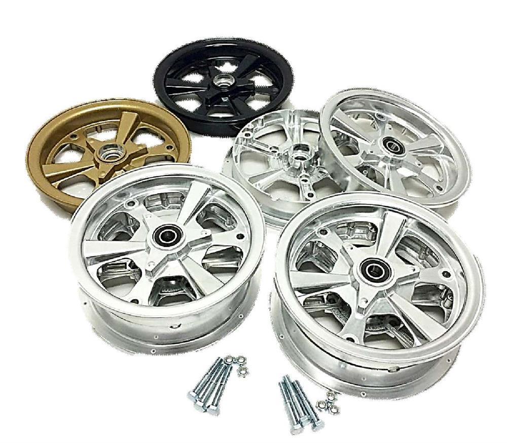 8 in. Mini Bike Wheel, w/Bearings