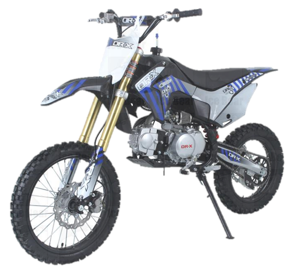 Slash 125cc 4-Speed Manual, XL Dirt Bike
