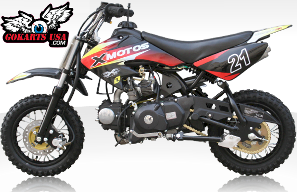X-Motos 90 Mini Dirt Bike