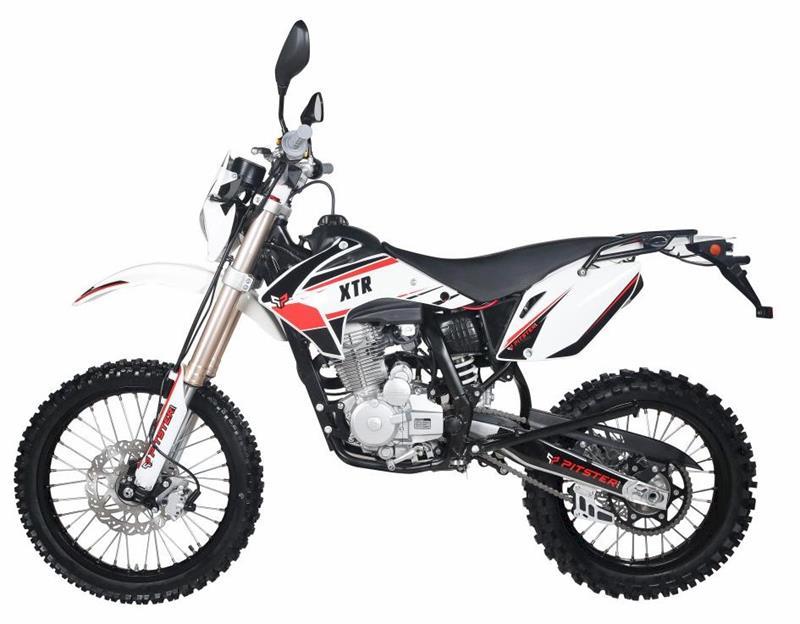 Pitsterpro Xtr T4 250 Sc Dirt Bike 5 Speed Manual Electric Start Kick Backup 19 16