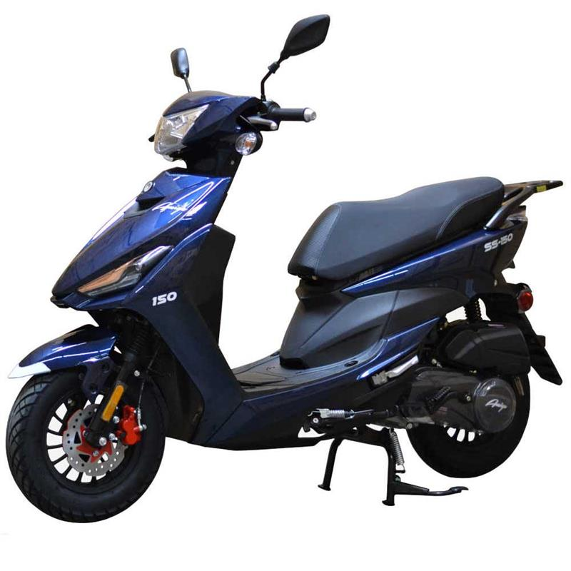 SS-50 SA Moped Scooter, ABS Brakes, Alarm Remote Start (10)