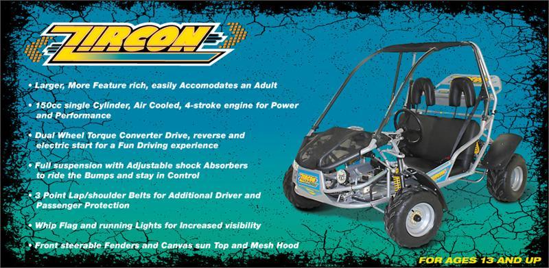 zircon 150cc go kart wiring diagram carter talon wiring