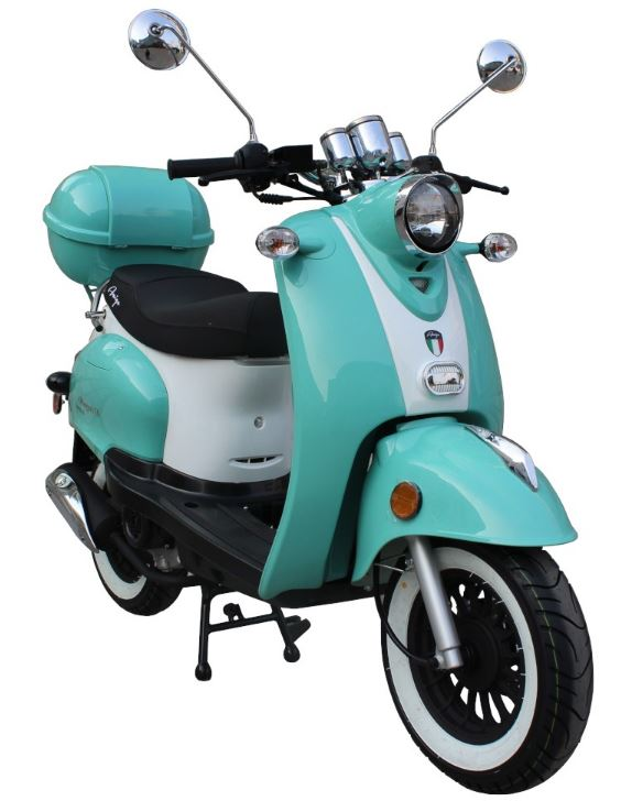 2020 Magari 50cc Moped Scooter, ABS Brakes, Alarm Remote Start (10)
