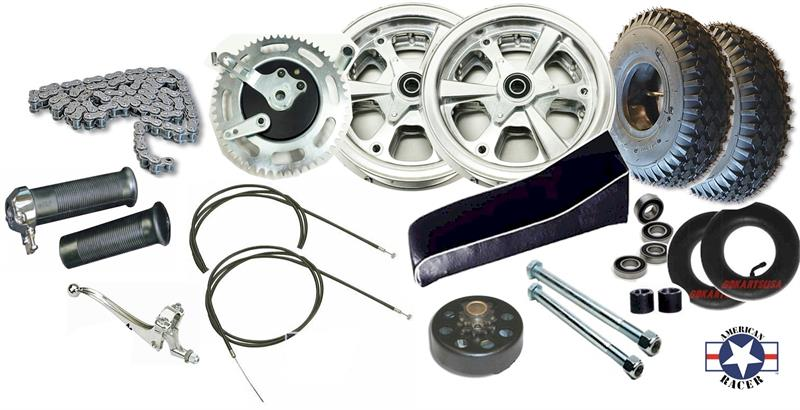 Parts Kit, American Racer 215 Minibike