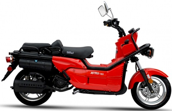 BMS Astro 150 Moped Scooter : California Legal Scooters
