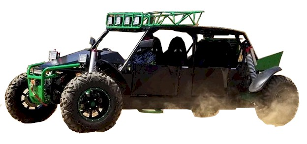 BMS 1500cc 4-Seater, Off-Road Buggy Go Kart