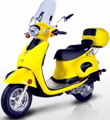 BMS Roman 150 Moped Scooter
