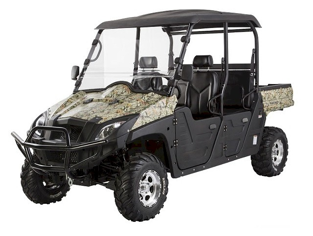 BMS 600cc 4-Seater EFI Ranch Pony UTV Side X Side