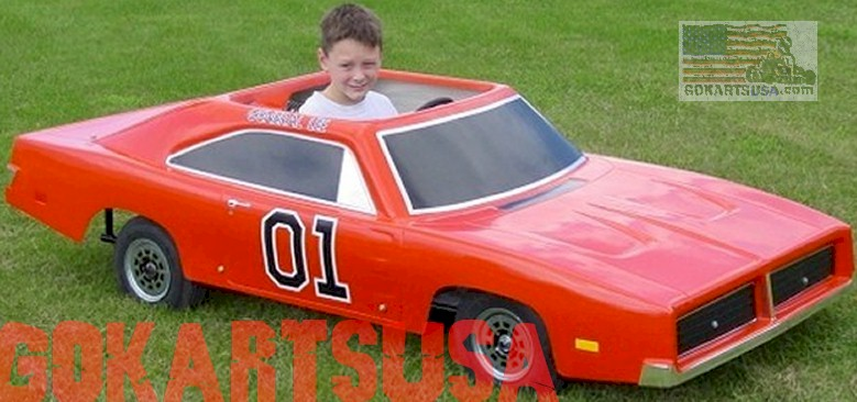General Lee Go Kart, Dodge Charger