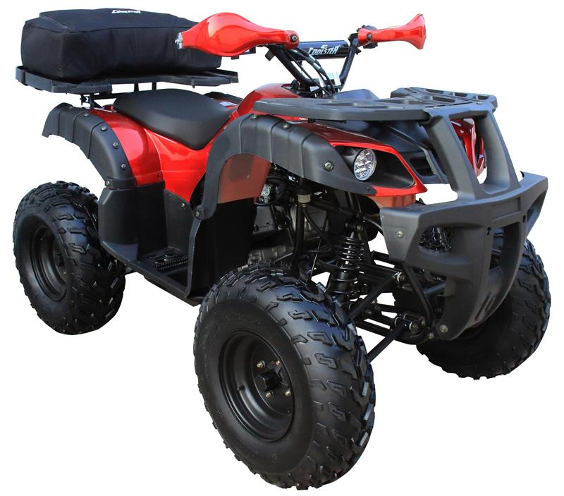 Coolster 150 ATV, Fully Auto with Reverse, 10in Wheels, Sport Racks