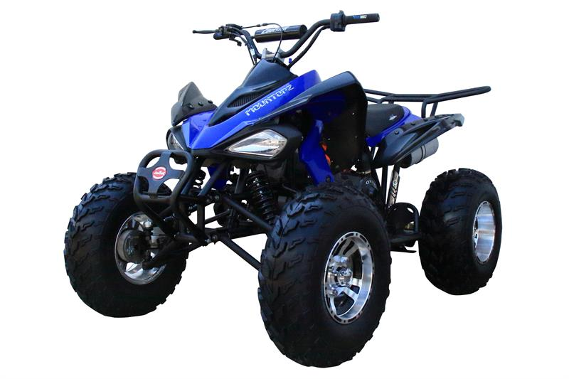 Coolster 175cc Sport ATV, Auto, 10 inch Chrome Wheels