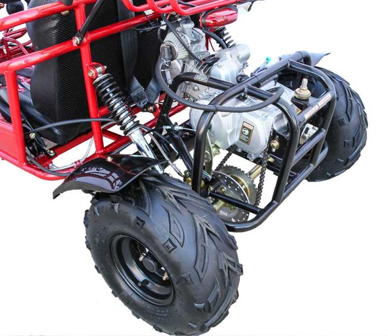 Kandi 125cc Kids Go Kart, 3-Speed with Reverse