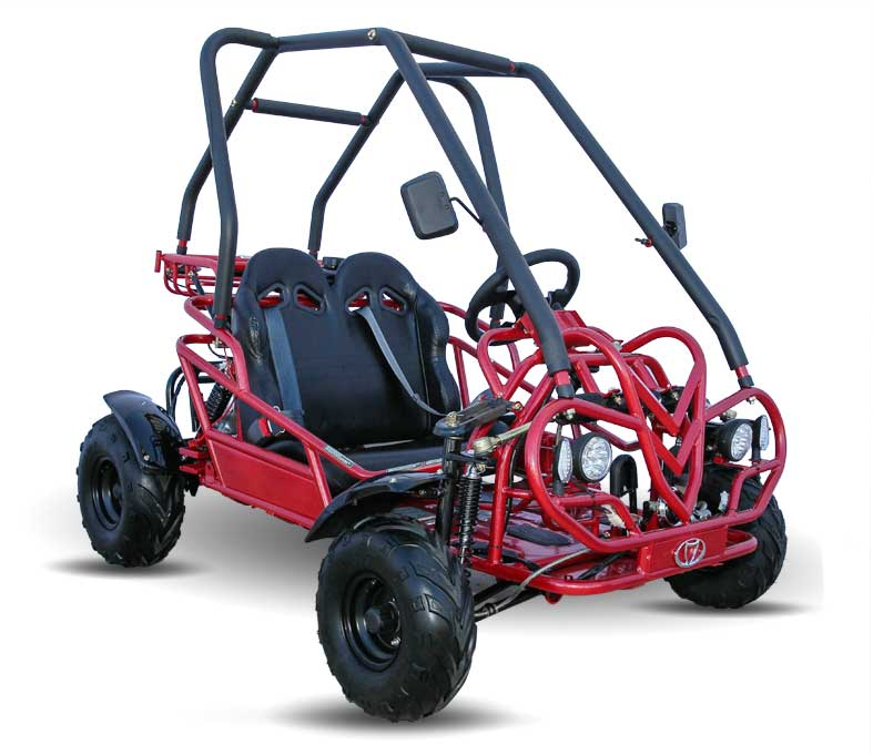 Kandi Mini 125 Kids Go Kart Fm5 Red