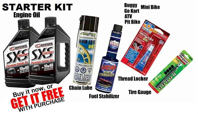 Starter Package, Gokart, Buggy, ATV, Pit Bike, Minibike