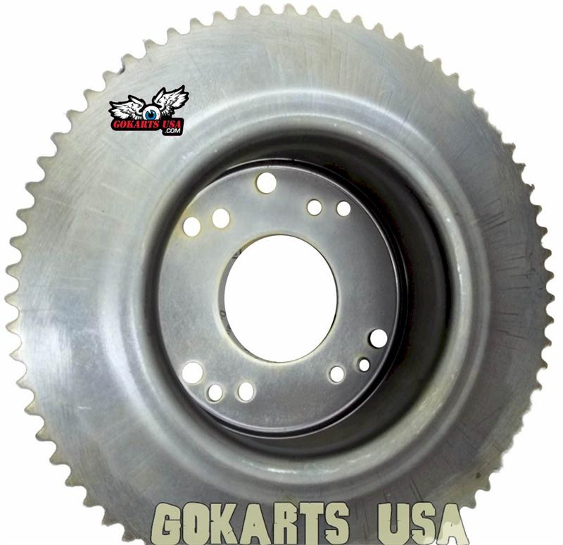Minibike Sprocket and Drum, for 6 in. Astro Rear Wheel