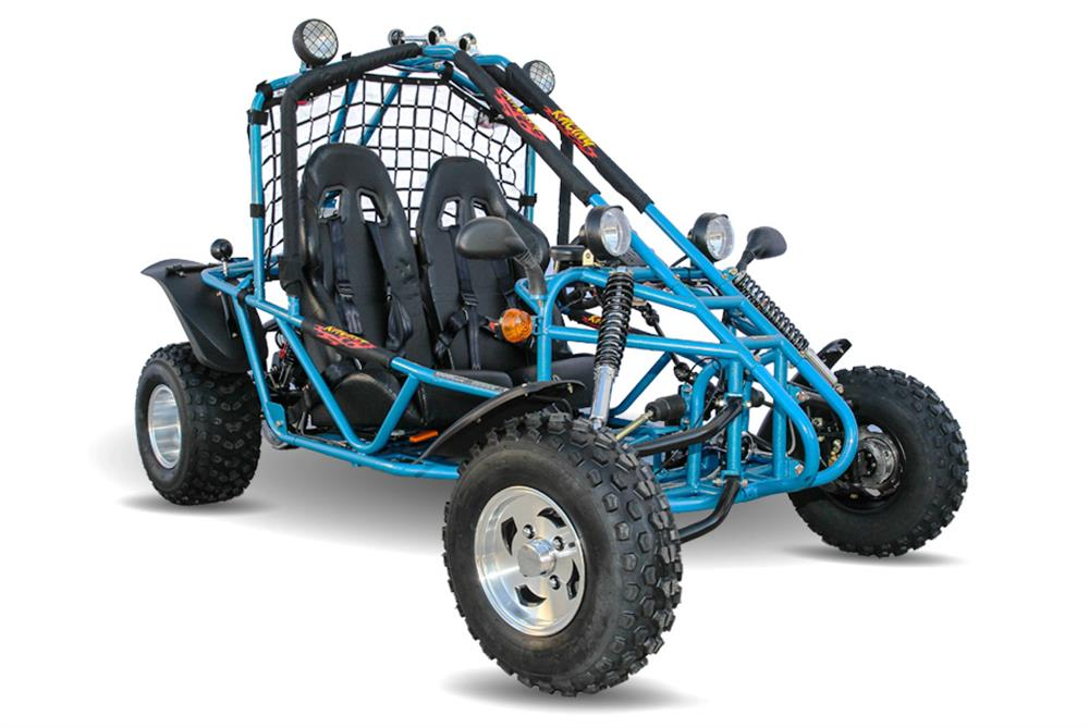 Spyder 200 Buggy Go Kart, Auto with Reverse, Racing Seats, Lights, on