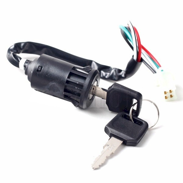 Keyed Ignition Switch, for BMS Prestige 150 Moped Scooter