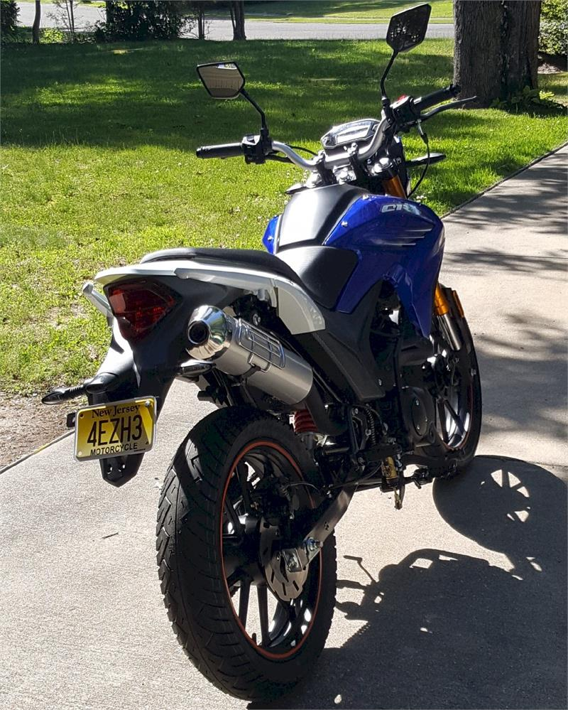 Enduro BSR 250 Dirt Bike