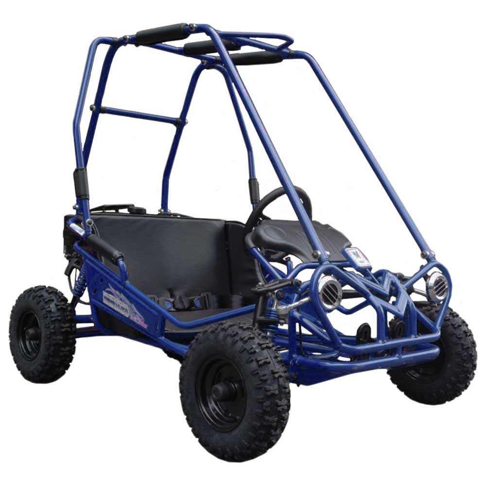 TrailMaster MINI XRS+ Kids Go Kart, 5.5hp, Dual Seats, Adjustable Pedals, Pull Start