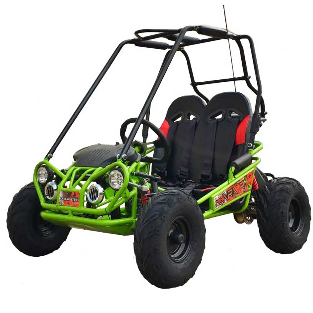 TrailMaster 163 MINI XRX/R+ Kids Go Kart, 5.5hp Remote Start, Reverse
