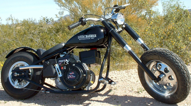 2012 Little BadAss Mini Motorcycle 5hp Tecumseh