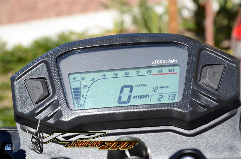 KP 200cc Sport Bike