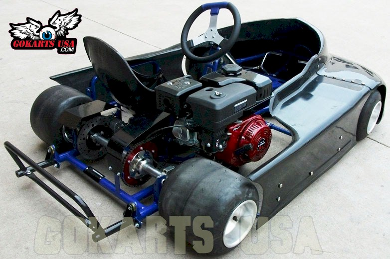 Road Rat Racer LTO Oval Track Race Go Kart