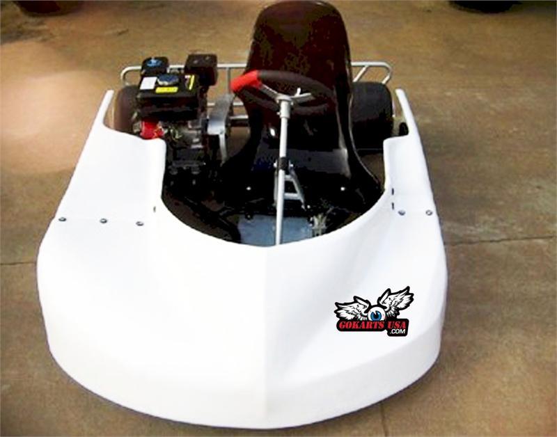 Road Rat Racer LTO Oval Track Race Go Kart