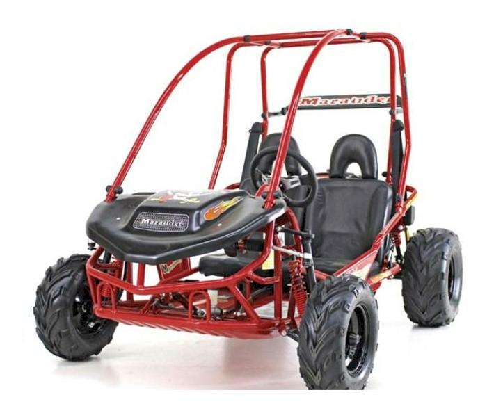 Marauder Go Kart, 6 5hp, Torque Converter, Electric Start