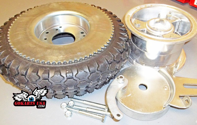 Hub and Sprocket, one piece combo