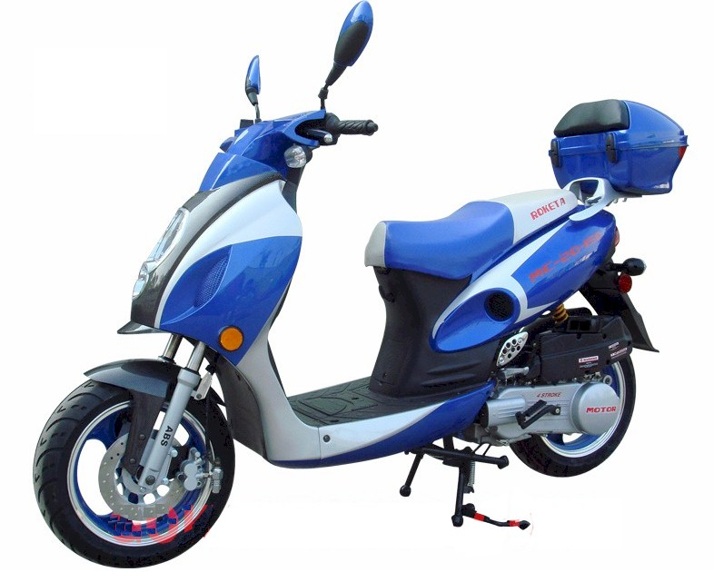 Roketa MC-20 Lambda150 Moped Scooter