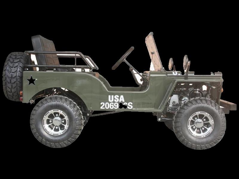 Mini Jeep 125cc Go Kart 3 Sd With Reverse