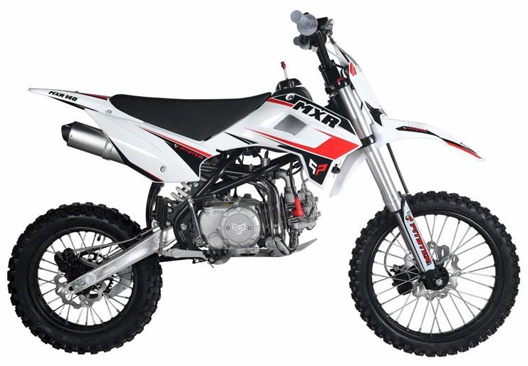 PitsterPro MXR 140 Dirt Bike, 4-Speed Semi
