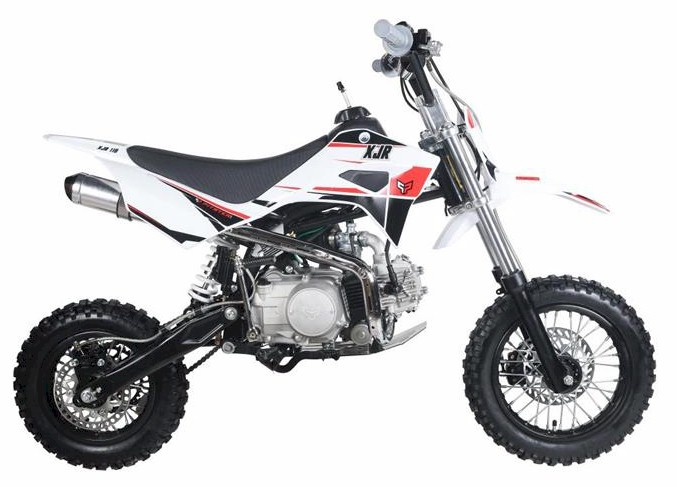 PitsterPro XJR 110 Dirt Bike, 4-Speed Semi Auto