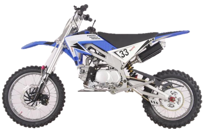 X-Motos 125cc Dirt Bike, 4-Speed Manual