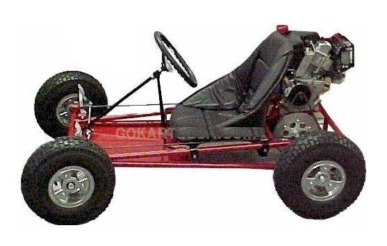 3551 GoKart Kit, 5 in. Aluminum Wheels