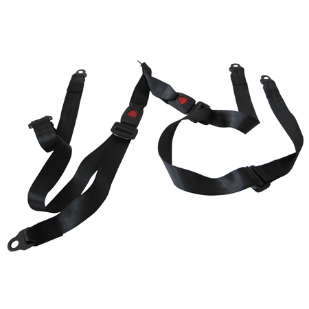 Safety Belt Complete (set of 2), for TrailMaster 150 Buggy Go Kart