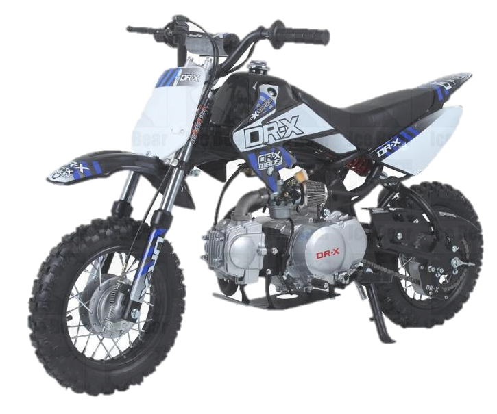 Scrub 110cc 4-Speed Semi Automatic Dirt Bike
