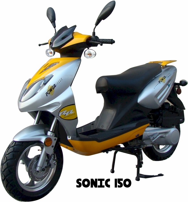 Sonic 150 Moped Scooter