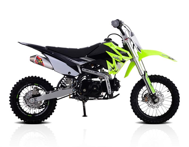 Thumpstar 110cc Dirt Bike, 4-Speed Semi Automatic, Kick Start, (14/12)
