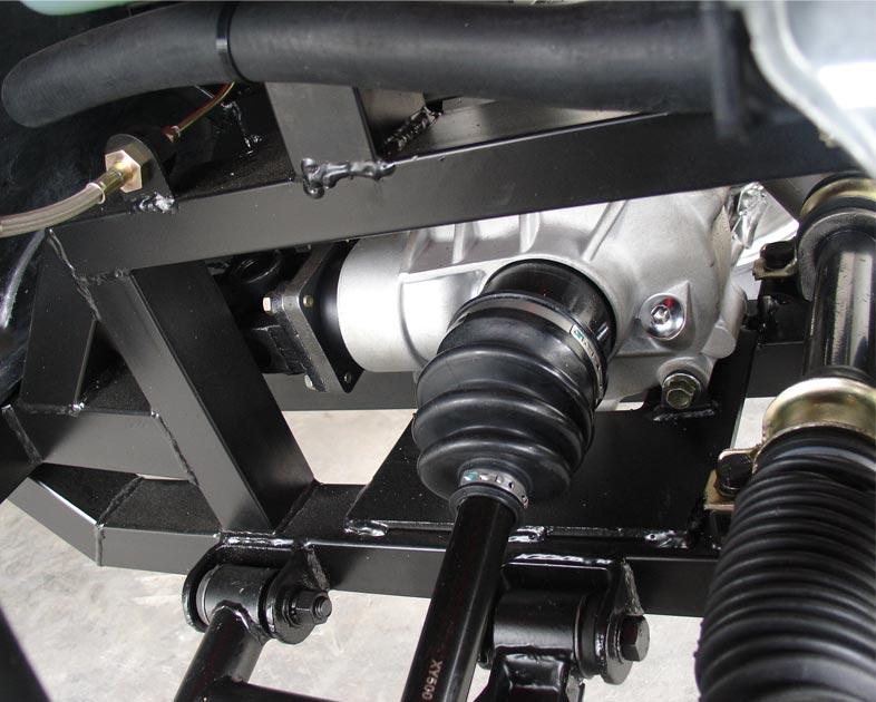 Roketa UV-03E 4-Seat 4x4 Utility Vehicle